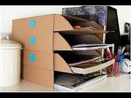 cara membuat lemari buku dari kardus bekas ide kreatif cara membuat rak buku dari kardus youtube