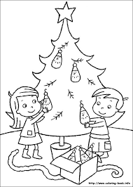 112 christmas winter coloring images