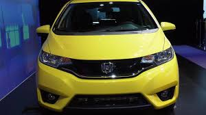 Honda Fit Spec 2015 Us Spec Honda Fit Launched In Detroit Will Be Built In