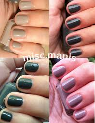 miscellaneous manicures lcn urban expression swatches