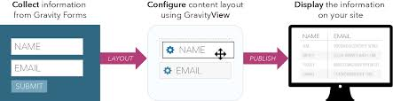 layout gravity display form content on your wordpress website gravityview