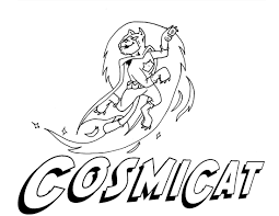 coloring pages cosmicat