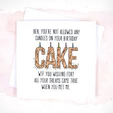 card invitation design ideas boyfriend birthday card message