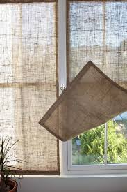 the shingled house diy easy burlap shades for less than 20 each