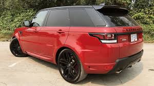 red land rover lr4 2017 land rover range rover sport autobiography test drive review