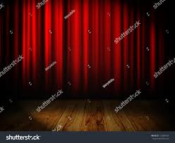Curtain Place Red Curtain Place Text Stock Illustration 713084734 Shutterstock