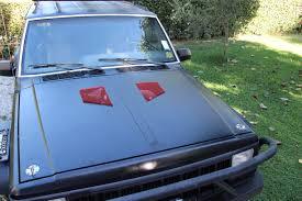 jeep hood vents b2 xj a matte black jeep cherokee