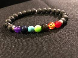 bead bracelet images Unisex chakra bead bracelet by fabbuttons on zibbet jpeg