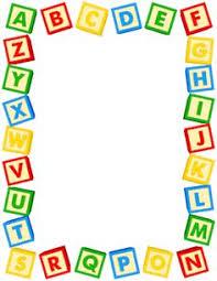 alphabet book cover page preschool abc letters pinterest