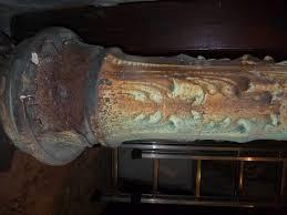 reverbere en fonte reverberes de la fontaine sainte marie a rouen