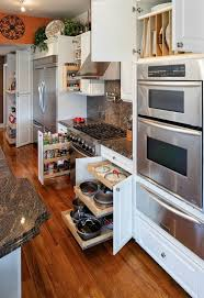 Classic White Kitchen Cabinets Wonderful White Kitchen Cabinet To Store Essential Kitchen Items