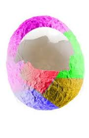 paper mache easter baskets easy easter craft ideas