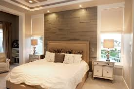 Background Wall Mirror Wall Tiles Contemporary Bedroom by Accent Wall Behind Bed Houzz