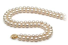 pearl necklace double strand images 6 7mm aa quality freshwater cultured pearl necklace in double jpg