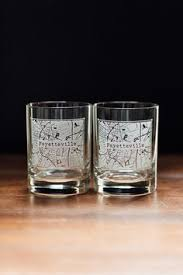 houston map glasses houston etched map college town rocks whiskey glass set college