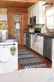 are black and white kitchens in style black white sunflower kitchen creative cain cabin