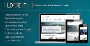 themes java love i love it content sharing wordpress theme by cosmothemes