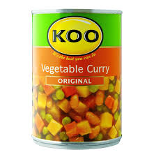 koo vegetable curry 12 x 420g lowest prices u0026 specials online
