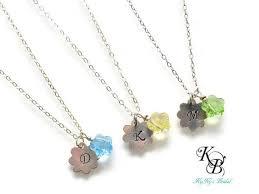 best flower girl gifts 53 best flower girl necklaces images on flower