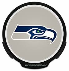 seahawks light up sign amazon com seattle seahawks light up powerdecal sports outdoors