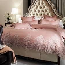 Royal Bedding Sets Cotton Lace Edge Luxury Royal Bedding Sets Tribute Siky