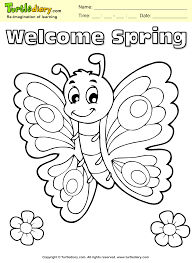butterfly coloring sheet turtle diary