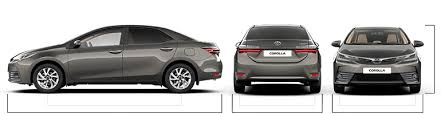 toyota corolla photo toyota corolla models specifications dimensions engines