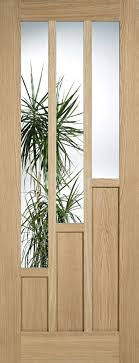Interior Doors With Glass Panel Buy Oak Coventry Tiered Panel Doors Supplied As