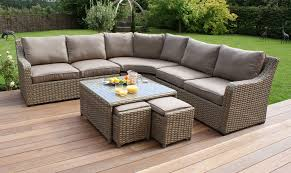 outdoor table sets sale why you should choose all climate rattan garden furniture sets