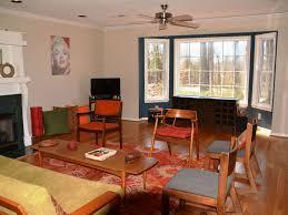fully furnished mid century modern ranch saxapahaw north