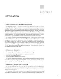 Research Objective Statement Chapter 1 Introduction Assessing Coding And Marking Of