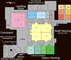 Parking Building Floor Plan Building Floorplan Mckimmon Conference And Training Center