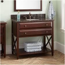 wood open shelf bathroom vanity 24 salinas teak vessel sink vanity