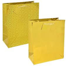 gold gift bags voila gift bag dollartree