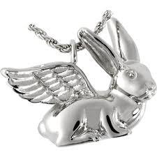 crematory jewelry pet cremation jewelry bunny rabbit
