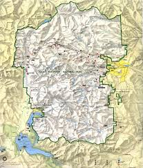 Park City Utah Trail Map by
