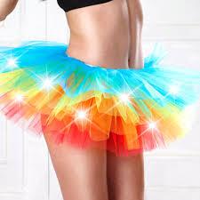 halloween costumes led lights online buy wholesale led rainbow tutu from china led rainbow tutu