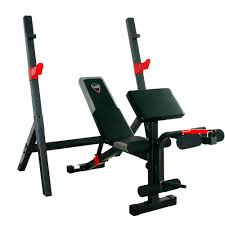 cap strength olympic bench with full leg developer and preacher