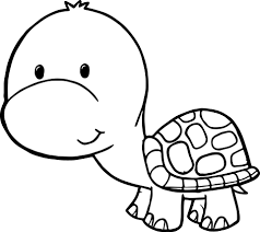 cute free tortoise turtle coloring page wecoloringpage