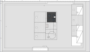 plan de cuisine avec ilot central plan de cuisine avec ilot trendy design plan cuisine ilot