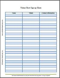 Event Sign Up Sheet Template Free Printable Sign In Sheet Printable Event Sign In Sheet Form Event