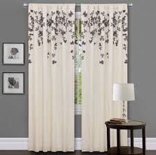 Curtains And Drapes Ideas Decor Simple Flower Pattern Curtain Curtains Drapes Etc