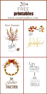 free printables thanksgiving 2013 on sutton place