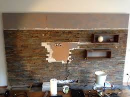 wohnzimmer steintapete modernes wohndesign kühles modernes haus wohnzimmer dekor