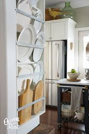 Kitchen Plate Rack Cabinet Oliver And Rust Plate Rack Kitchen Diy