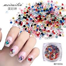 rhinestone nail designs promotion shop for promotional rhinestone