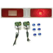 dakota digital led tail lights 1973 1974 chevy nova led tail lights dakota digital lat nr380