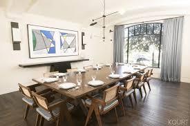 Kourtney Kardashian House Interior Design by Kourtney Kardashian U0027s New Dining Room Christmas Brunch
