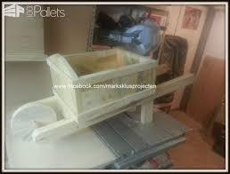 Wooden Wheelbarrow Planter by Wheelbarrow Planter Made Out Of Pallet Wood U2022 1001 Pallets