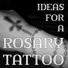 rosary bead tattoo ideas designs and meanings tatring